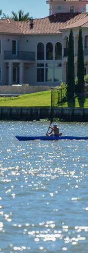 Kayak on Clear Lake
