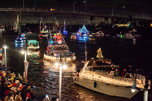 Christmas Boat Lane Parade