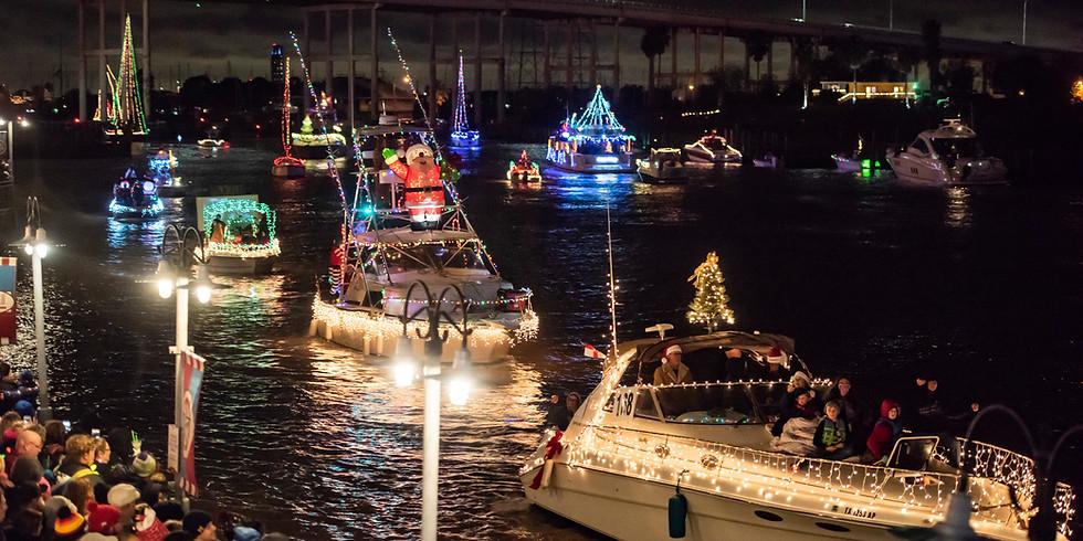 Clear Lake Christmas Boat Lane Parade