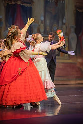 Nutcracker ballet performance