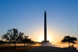 "Visit the ""Birthplace of Texas"" and take an elevator to the top of the monument."
