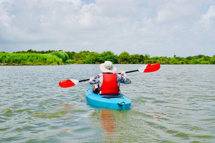 Kayak on Clear Creek