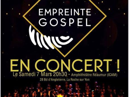 Concert Empreinte Gospel