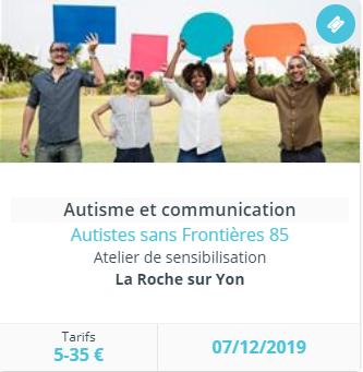 Atelier Autistes sans Frontières 85.
