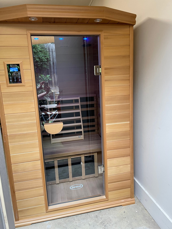 Infrared Sauna new Hero in Wellness Industry - gives workout, is therapeutic and restorative!