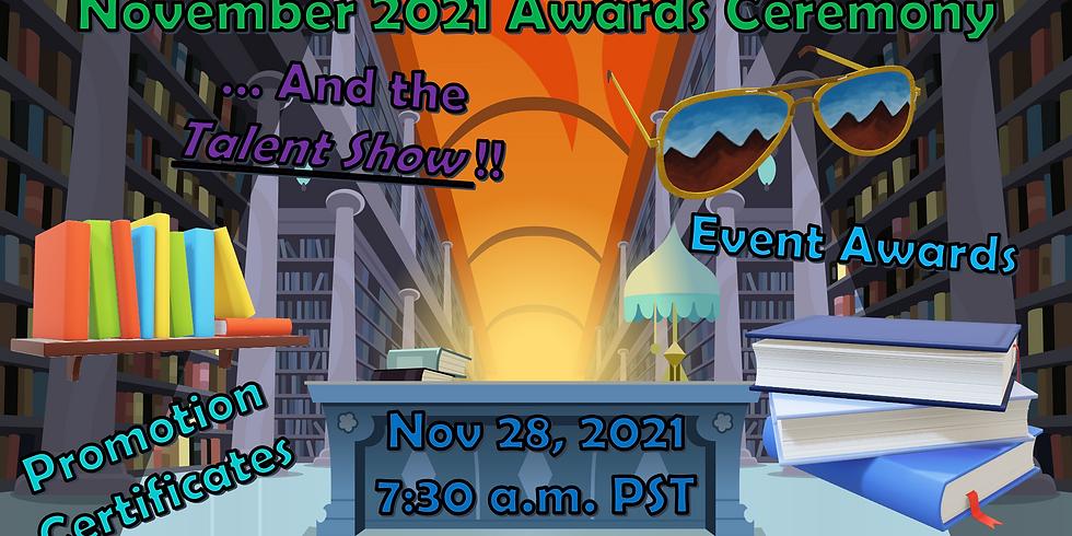Nov 2021 Awards Ceremony