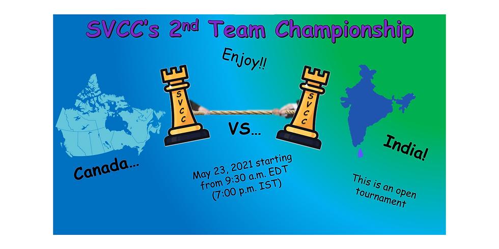 SVCC's Team Championship#2 (Canada Vs India)