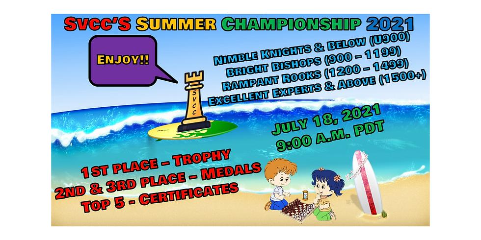 SVCC's Summer Championship 2021