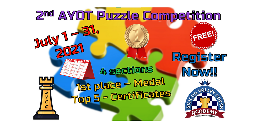 2nd AYOT Puzzle Competition