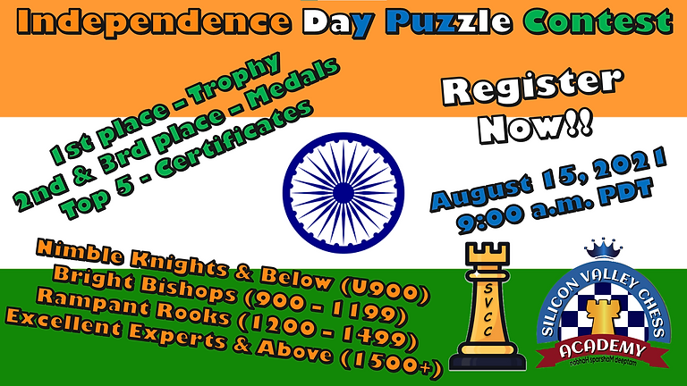 SVCC's Independence Day Puzzle Championship