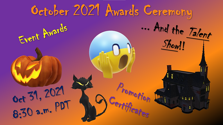 Oct 2021 Awards Ceremony