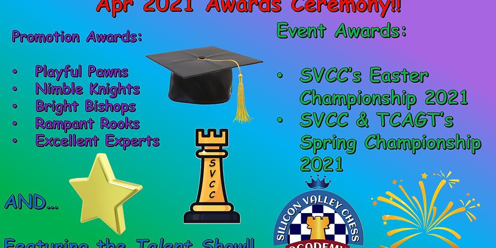 Apr 2021 Awards Ceremony