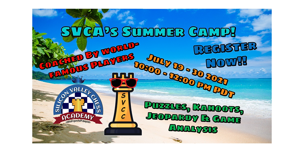 SVCA's Summer Camp!