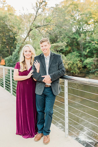 Mallori Ma Engagement Photos Bright and Airy