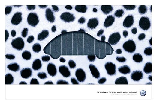 VW Beetle 'Fun fur'