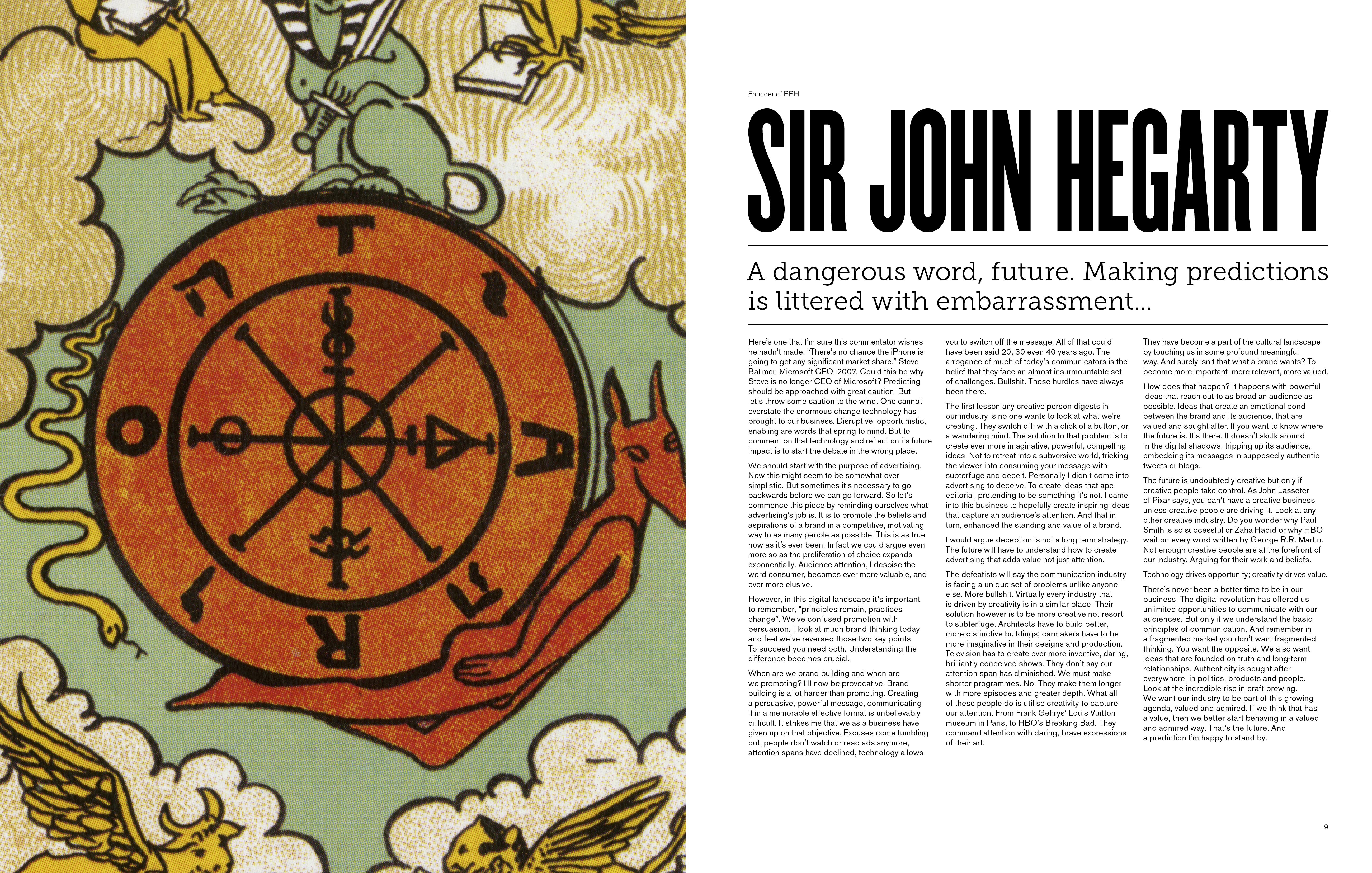 Sir John Hegarty
