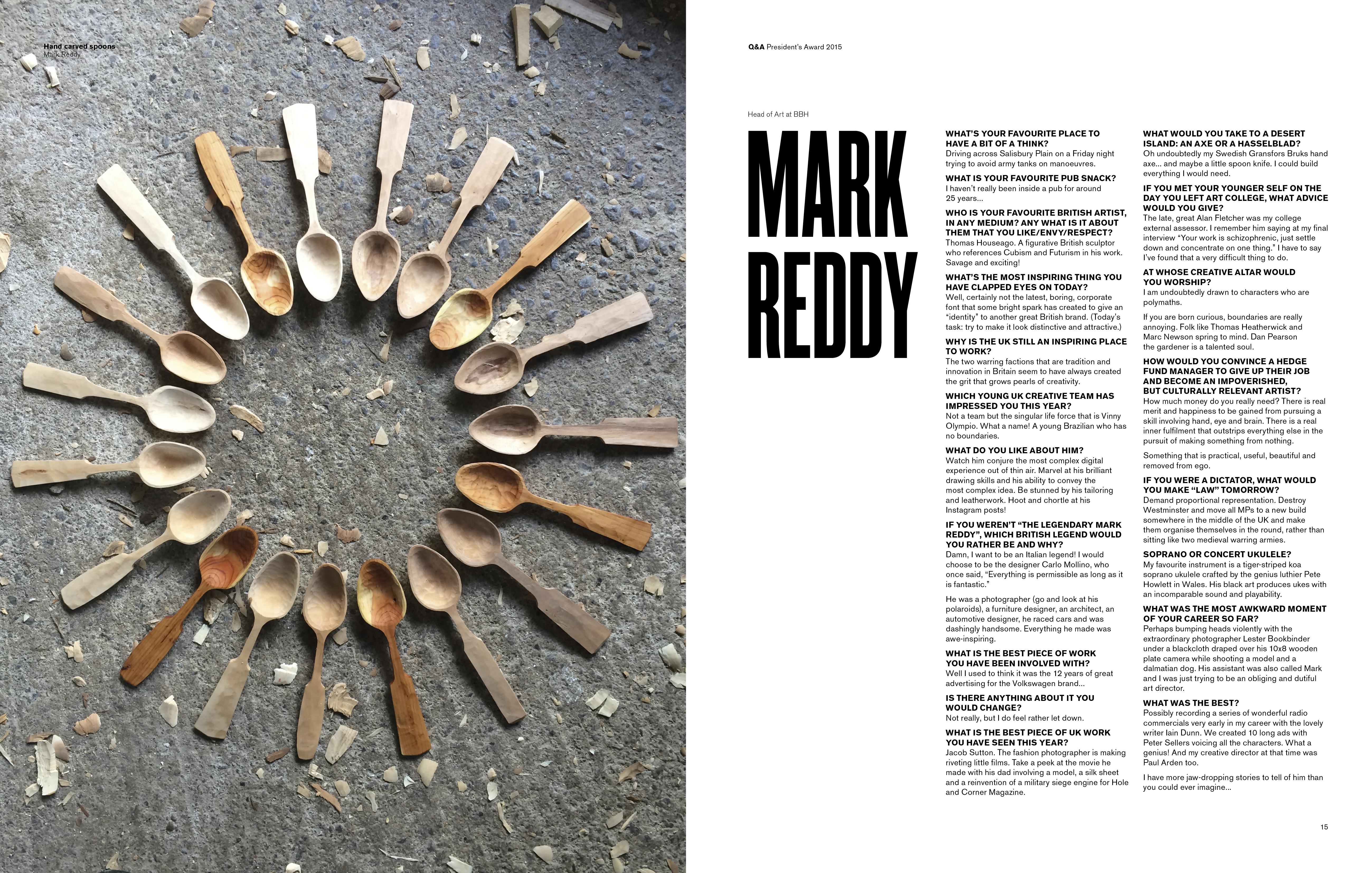 Mark Reddy Interview