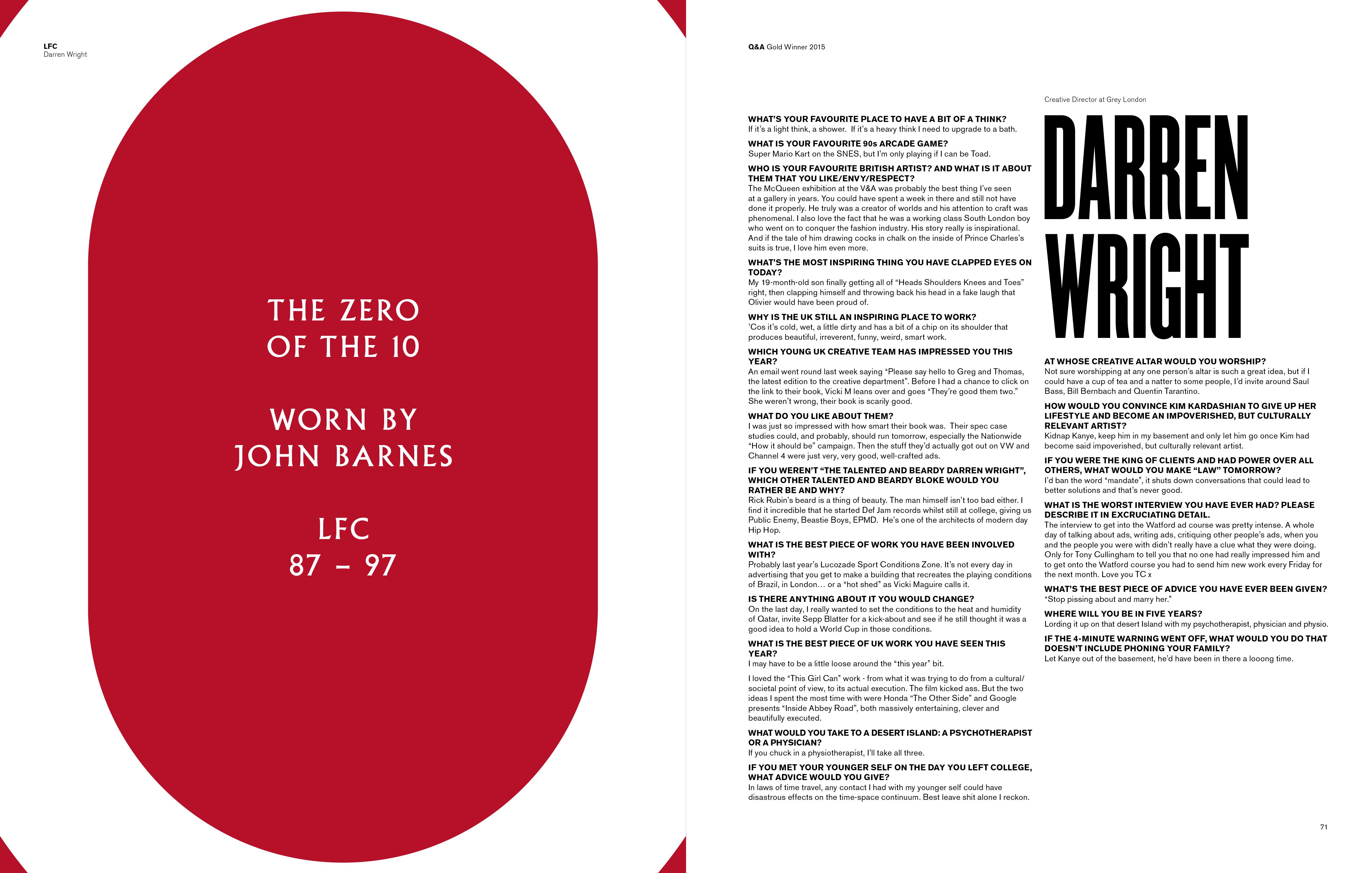 Darren Wright Interview
