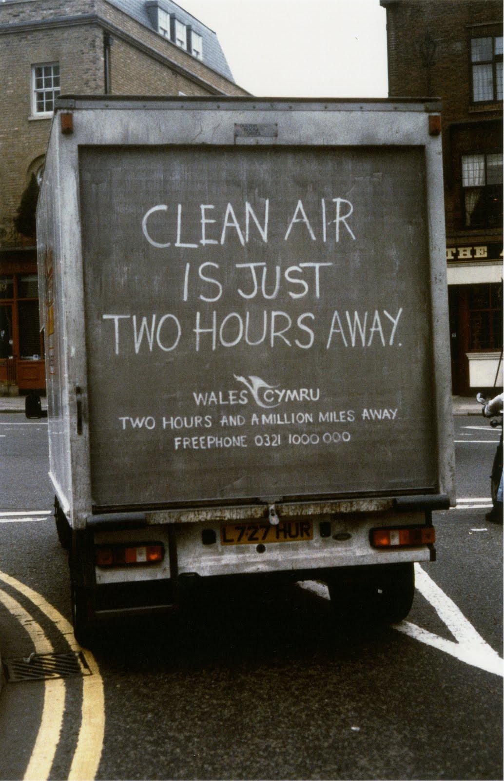 Wales Tourist Board 'Dirty Van'