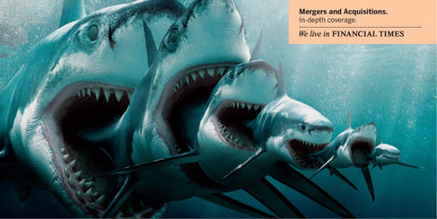 Financial Times 'Mergers & Aquisitions'
