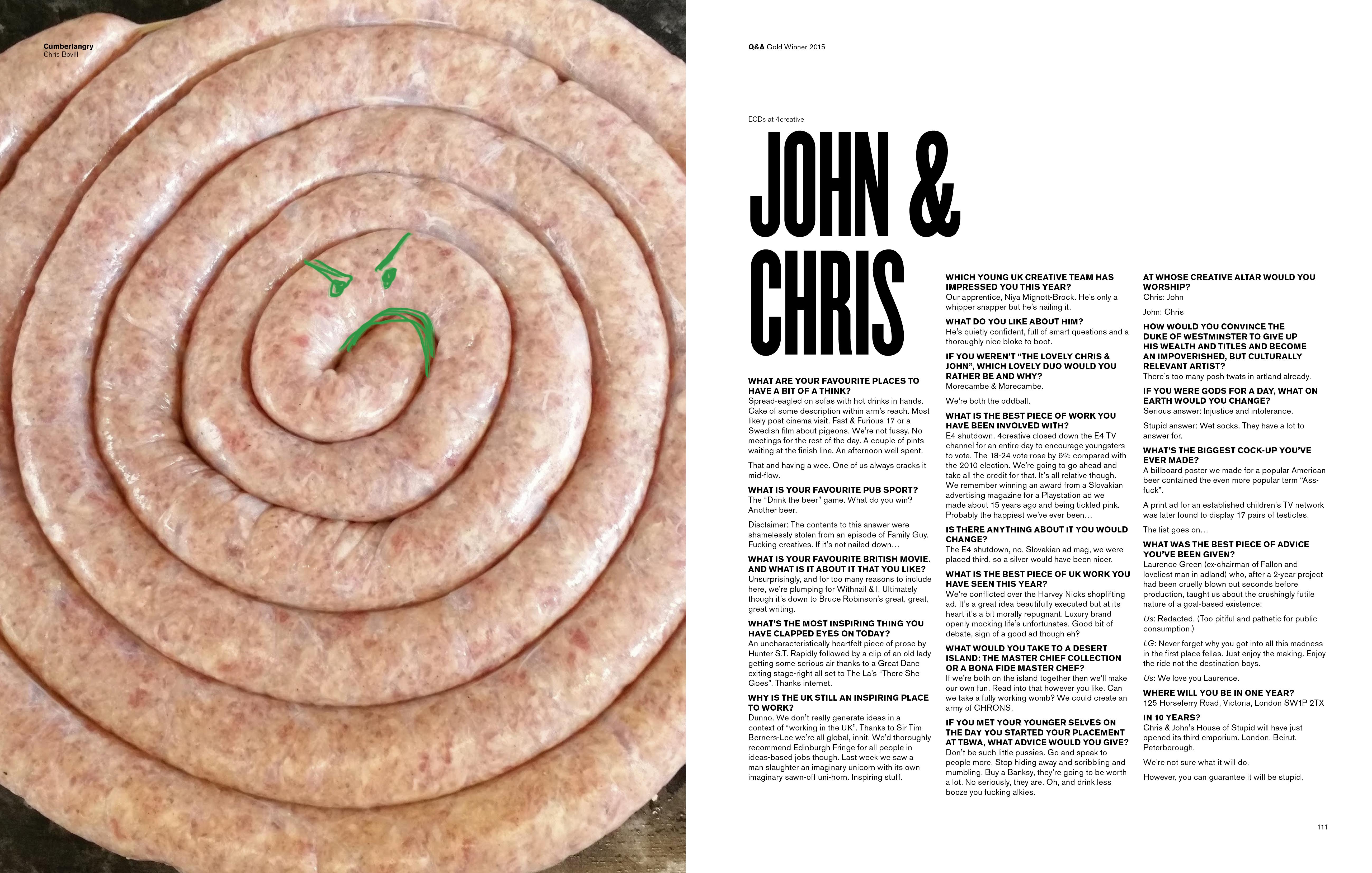Chris & John Interview