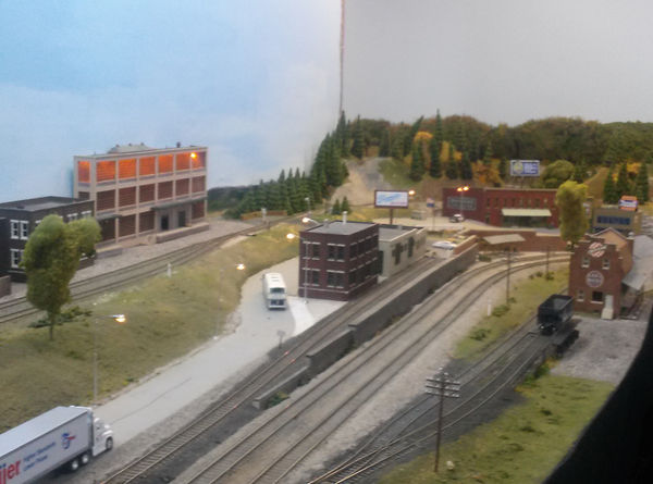 Overview image of the HO Scale town of Hankinsville