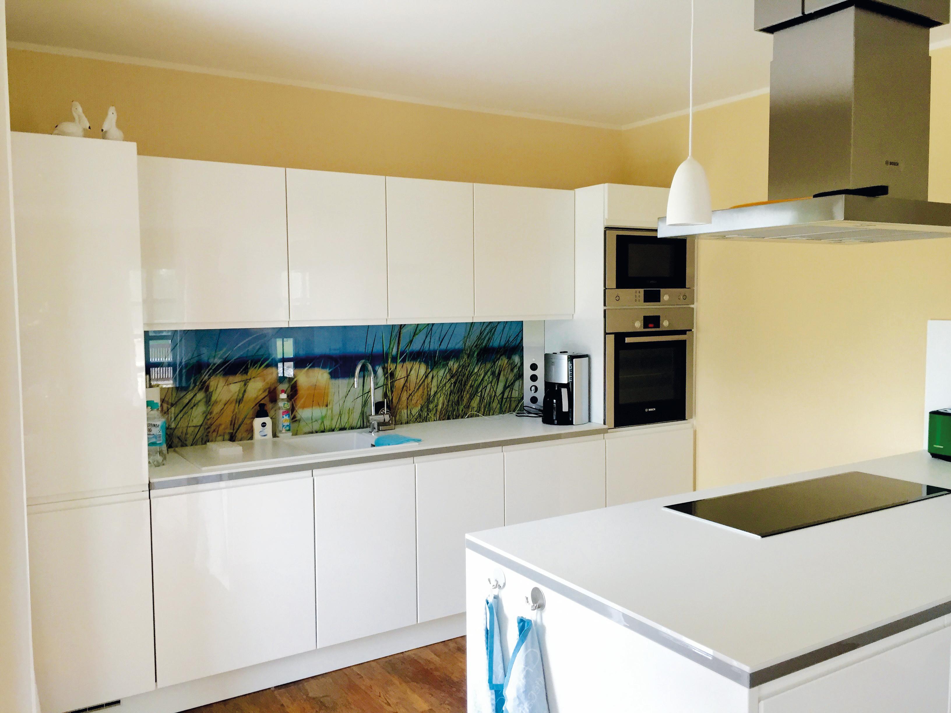 Küche mit Bosch Haushaltsgeräten