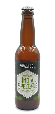 WASTED India Spelt Ale (nieuwe fles) - t
