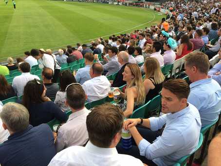 Cricket, Giggles and Charity
