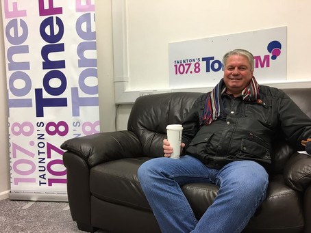 Interview with Taunton's Tone FM