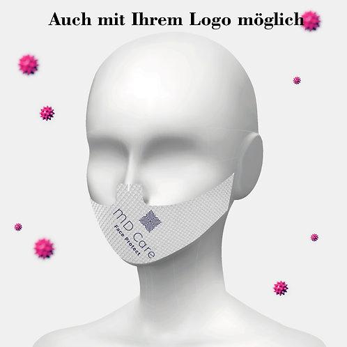 Klebende Besucher / Kunden / Behelfsmaske Unisex mit Ihrem Logo