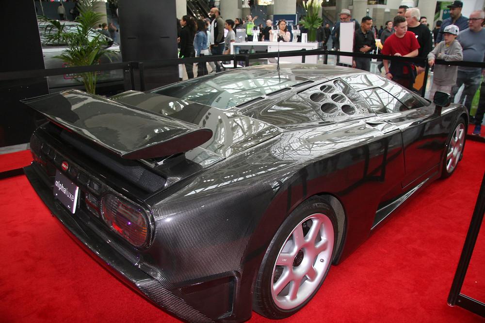 1994 1-of-1 Clear Coat Bugatti EB110