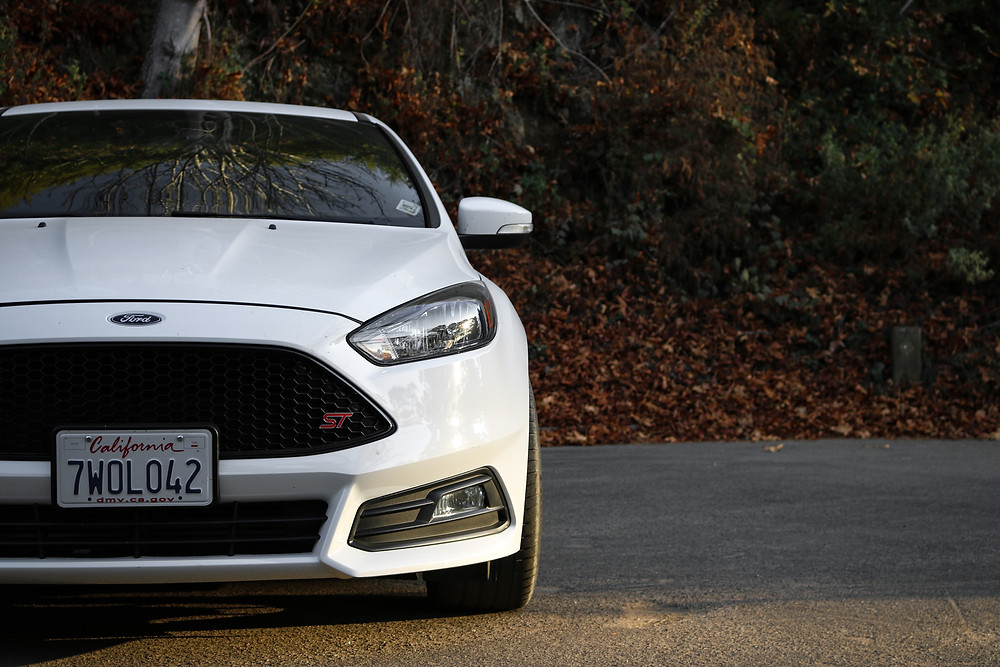 Front of White Focus ST