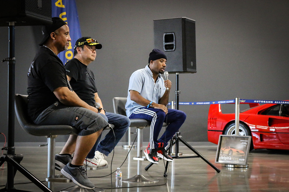 Knowledge Bennett, Mad Mike, and Alpha Luxe were the speakers for Autobahn Alliance's first ever panel