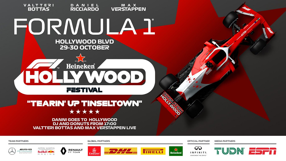 Formula 1 Hollywood Flyer