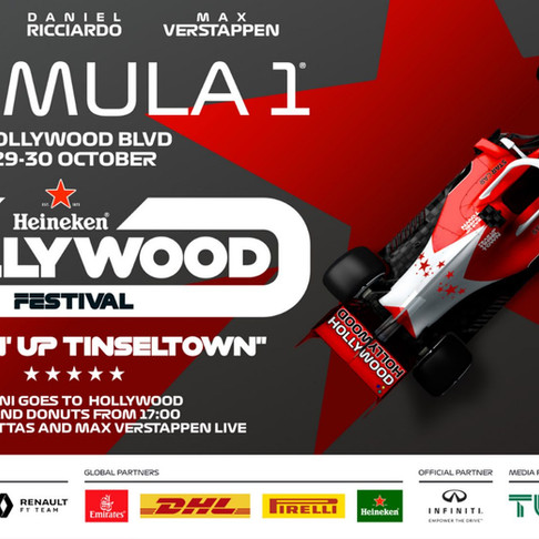Calling All Racing Fans: F1 Festival to Take Over Hollywood