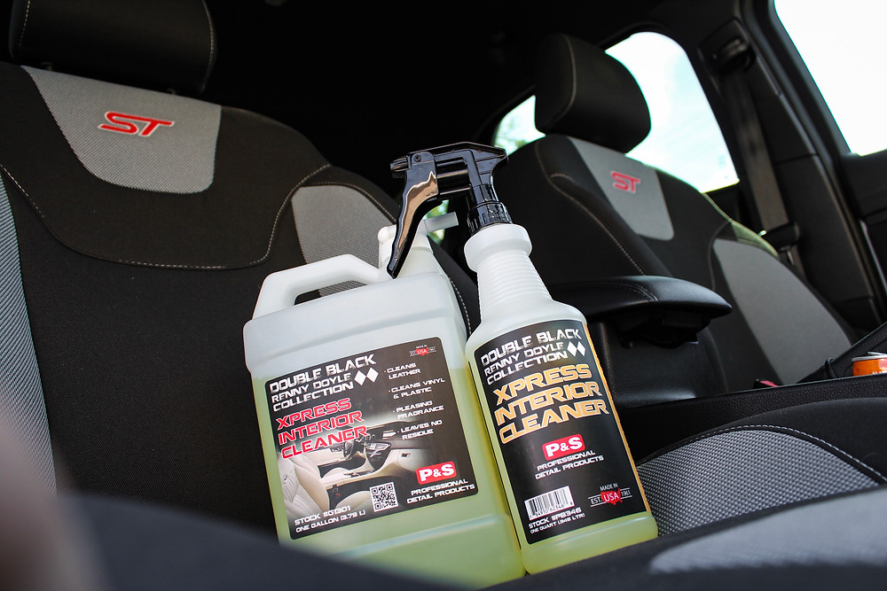 Xpress Interior Cleaner inside of Ford Focus ST