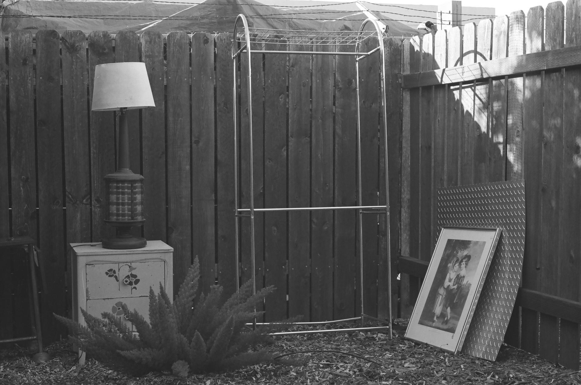 Princess Gollum's backyard