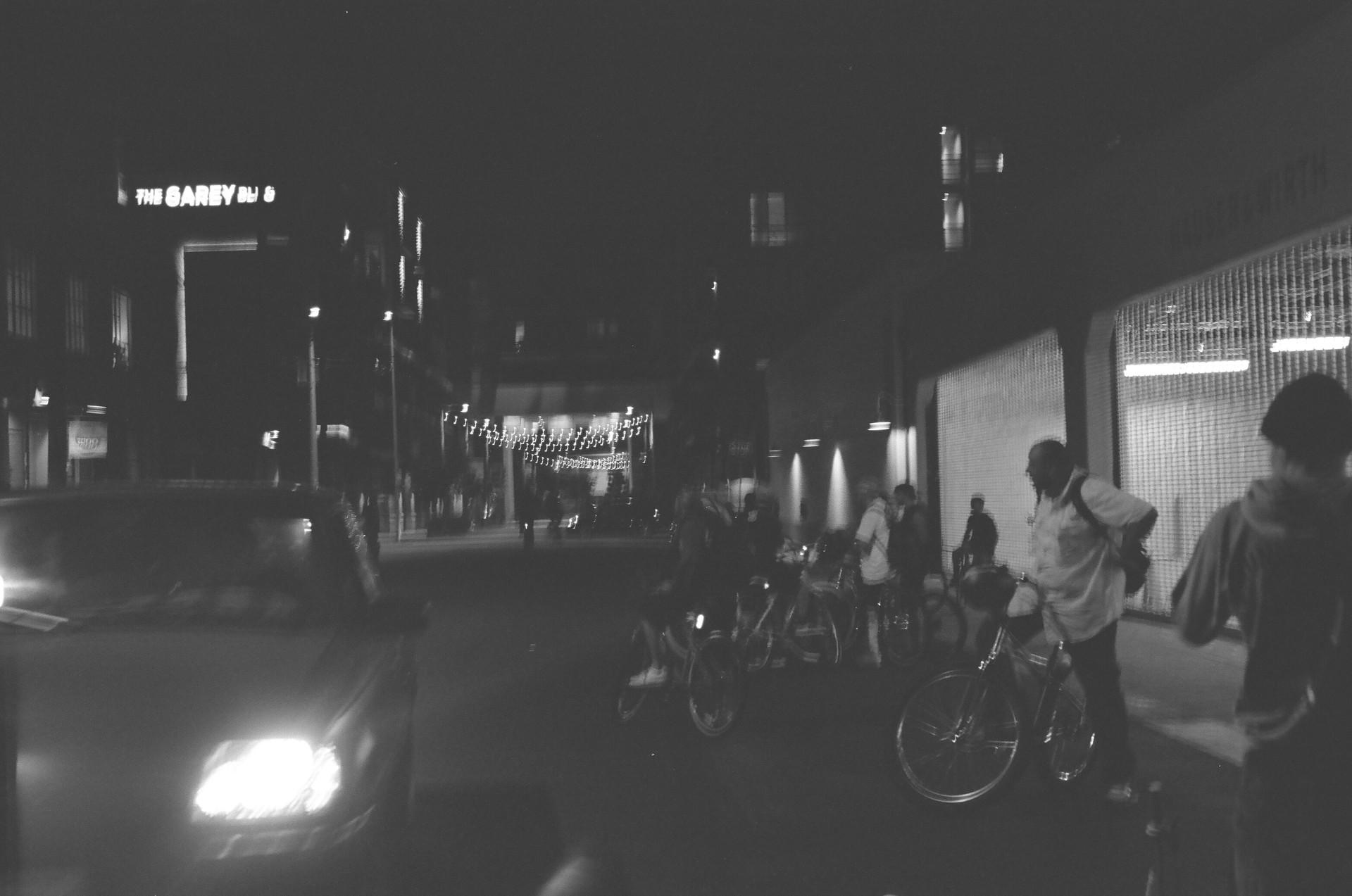 Street gangs at night