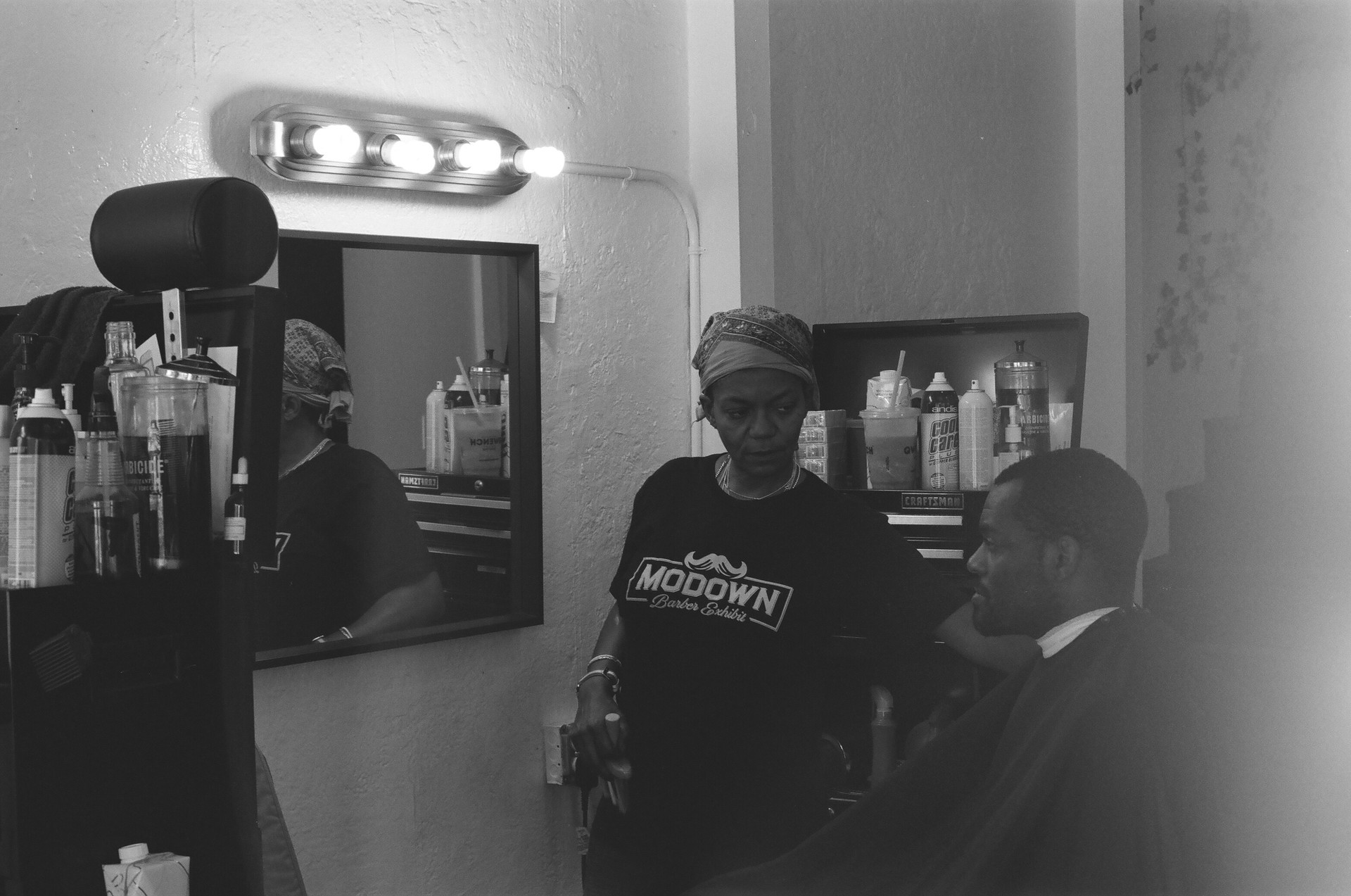 A dope barber