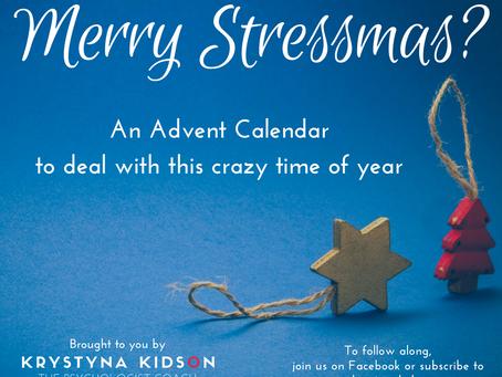 Merry Stressmas?
