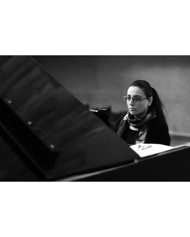 During Rehearsal_______________#bw #mono