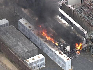 Massive Substation Fire in Philly!