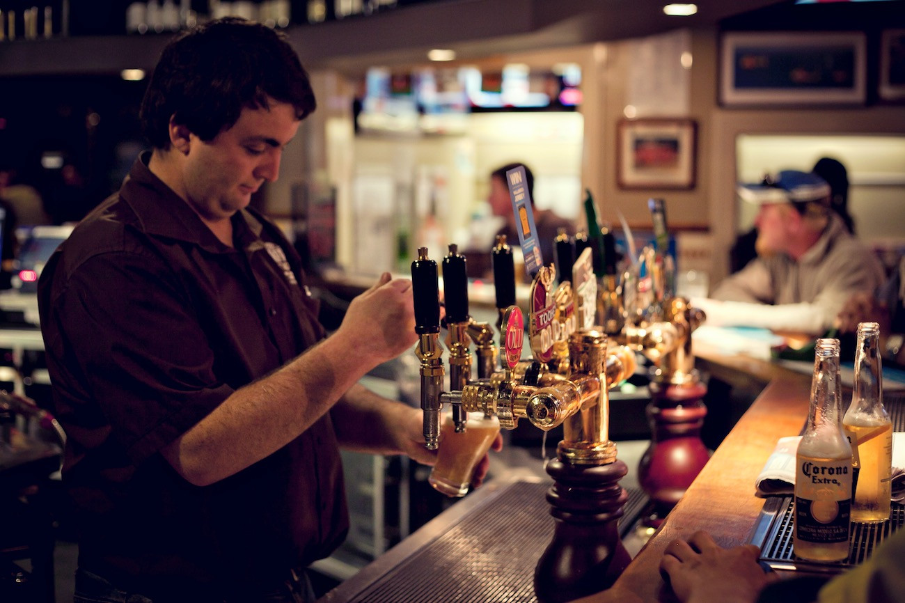 Huge range of tap beers