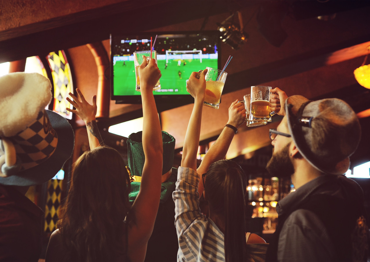 All the big sporting events are on at the Aussie!