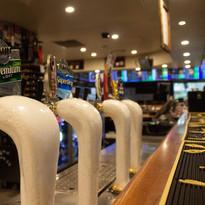Great range of tap beer