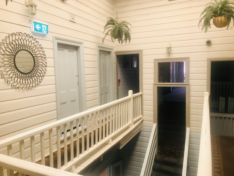 Upstairs accommodation