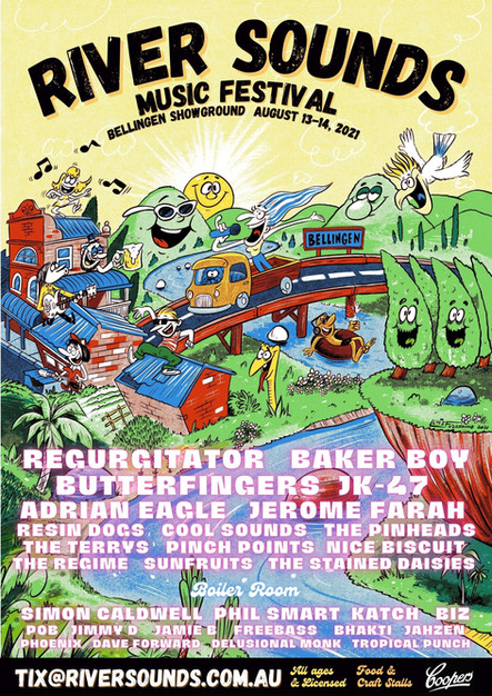 River Sounds poster