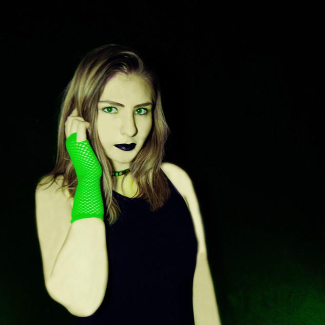Green as night