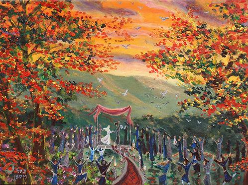 Joyous Forest Wedding